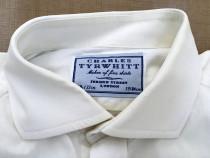 Camasa Charles Tyrwhitt Alba Manseta Butoni Nr. 39