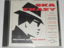 CD Ska Crazy (Return Of The Ugly) -comp Judge Dread,Bad Mann