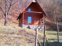 Cabana de lemn de brad in jud. Arges, sat Bradulet -Central