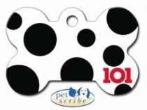 Medalion Os Mare Disney 101 Dalmatiani Pet Scribe