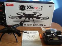 Drona Syma X5SC-1 Camera 720P HD 2MP+Card 4GB Cadou