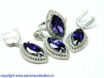 Set bijuterii argint rodiat Model ST243391