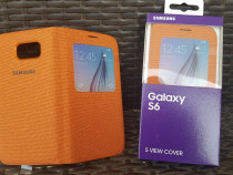 Husa Originala S-VIEW Activa Noua pt Samsung Galaxy S6 G920