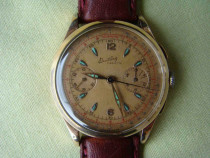 Ceas BREITLING Cadette Chronograph (Venus 188) - Aur 18k
