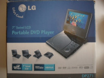 LG, Model DP271P, DVD Player portabil, stereo, nou, la cutie