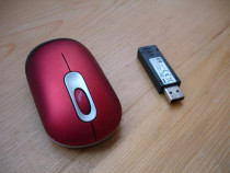 Mouse Optic wireless HP rosu