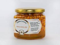 Miere albine 100% naturala cu fructe de catina