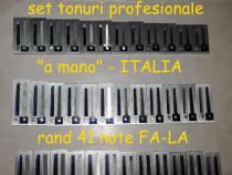 Rand tonuri italiene profesionale acordeon
