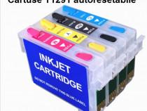Nou: CISS - Cartuse REINCARCABILE Epson T1291 cu autoRESET