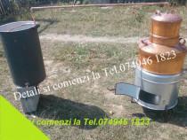 Instalatie Noua pt Tuica.Cazan de Cupru.60 lt+Toate Accesori