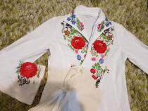 Cămașă kimono mexton cu broderie superba, 36