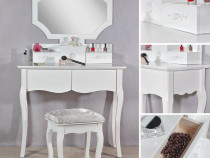 SEA47 - Set Masa alba toaleta cosmetica machiaj oglinda