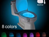 Lampa de veghe led lumina pentru vasul de toaleta wc