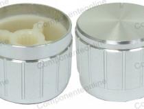 Buton pentru potentiometru, 23mm, aluminiu, 23x17mm - 127506