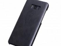 Husa slim piele naturala SAMSUNG S8, textura usor vintage
