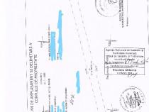Teren extravilan la E 85 la iesire din Dumbrava , 9000  mp