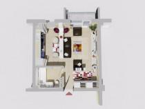 Apartament 1 camera Pacurari-Proges
