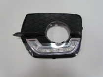 Grila dedicata DRL LED deicat BMW X6, limini de zi bmw x6