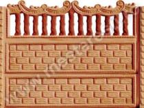Garduri din Beton Prefabricat Baroc 1 - transport gratuit