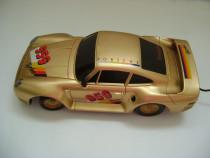 Porsche turbo racer 959 gold, vintage