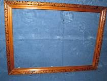 Rama maro veche cu model. Exterior-40_29cm, interior-36_27cm