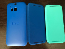 Husa Flip cover originala HTC One M8 M8S Noua