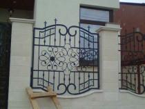 Porti din fier forjat si panouri de gard(orice model la com)