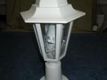 1207-Lampadar electric tip felinar din metal de exterior.
