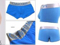 Boxeri barbatesti CK, albastrii, marime S/M