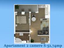 Comision 0! Apartament 2 camere la 70m de plaja Central