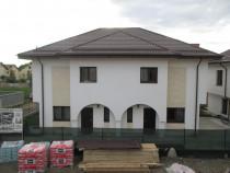 Casa 4 camere 3 bai 2 placi P+1+M 2018 canalizare