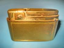 Bricheta veche Compound Patent Lighter Silver Match, Austria