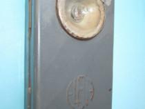 5174-Lanterna veche ELBA, metal, stare uzata.