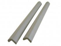 2buc protector colturi forma L/40cm / gros 254 Gri / Set
