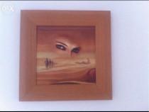 Tablou - suvenir Egipt, 39lei, dimensiuni 23 x 23 cm