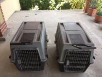 Doua custi transport animale Ferplast Atlas 60
