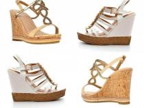 Platforme sergio todzi 40 sandale pantofi stiletto dama