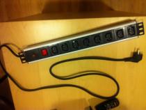 Priza Multi PC Monitor ON/OFF Diferential