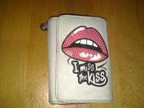 I miss The Kiss portmoney / portofel