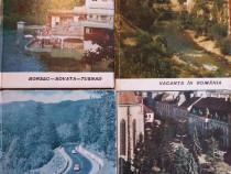 4 ghiduri vintage cu multe poze alb negru / R2P1S