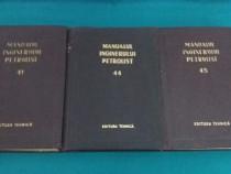 Manualul inginerului petrolist *nr. 41, 44, 45/ 1957