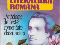 Limba Si Literatura Romana Antologie de texte comentate cl