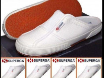 Superga Slipper Canvas Nr 34 , Nr 36 slapi panza