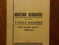 Marturii geografice despre tarile noastre - Gh. C.Teodorescu
