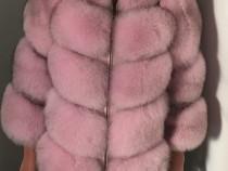 Blana naturala vulpe Fashion