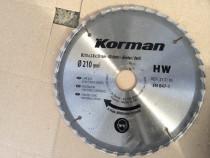 Panza Circular Korman 210 x 2,8 x 30 mm Profesionala