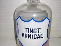 7681- Tinct. Arnicae Sticla mare Farmacie veche 1l.