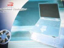 Masa cooler pad portabila 32x25 cm cu 2 coolere pt laptop no