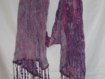 Eşarfă lila