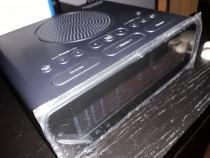 Aparat de radio cu dab,dab+,radio fm și alarmă cu ceas